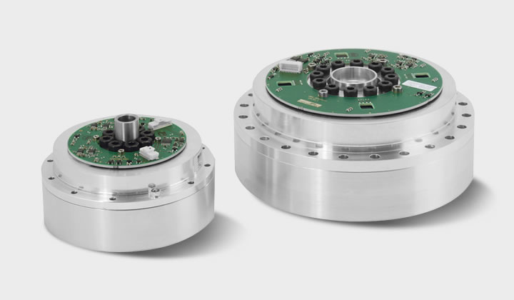 Der drehmomentgeregelte Antrieb: SENSO-Unit - the torque-controlled drive SENSO Unit consists of an optimized torque sensor, Harmonic Drive® gearbox and output bearing