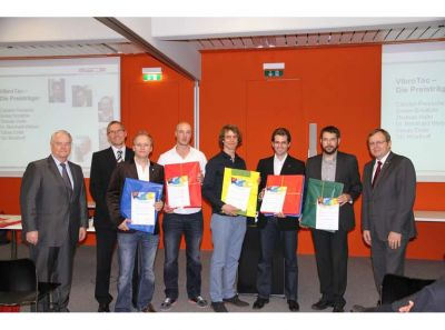 Das SENSODRIVE VibroTac gewinnt den Innovationspreis 2012 - the SENSODRIVE VibroTac winns the innovation award 2012